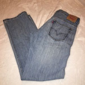 Levi's 569 Loose Straight Leg Jeans Size 32x36